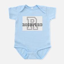 Letter R: Rockford Infant Creeper