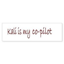 Kali Bumper Bumper Sticker