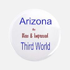 """Arizona 3rd World 3.5"""" Button"""