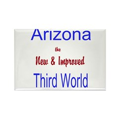 Arizona 3rd World Rectangle Magnet