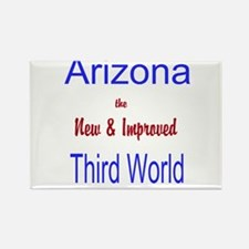 Arizona 3rd World Rectangle Magnet