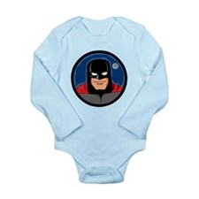 MOON STAR Long Sleeve Infant Bodysuit