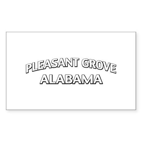Pleasant Grove Alabama Sticker (Rectangle 50 pk)