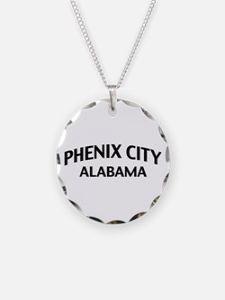 Phenix City Alabama Necklace