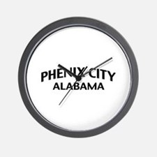Phenix City Alabama Wall Clock