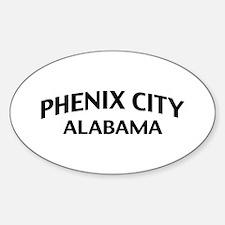 Phenix City Alabama Decal