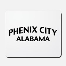 Phenix City Alabama Mousepad