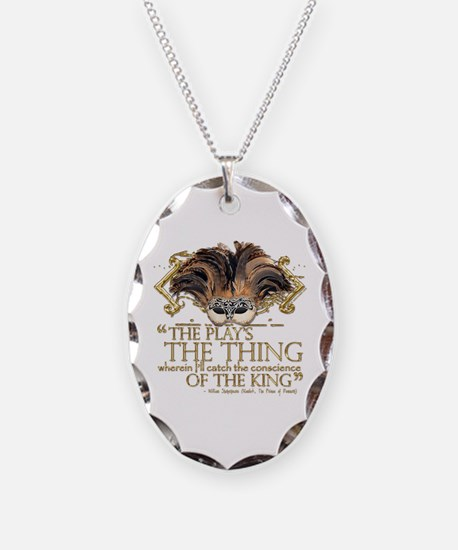 Shakespeare Hamlet Quote Necklace