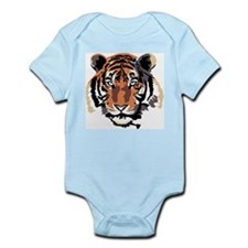 Tiger in Color Infant Creeper