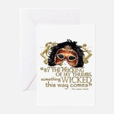 Macbeth Quote Greeting Cards (Pk of 20)