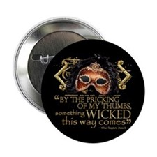 "Macbeth Quote 2.25"" Button (100 pack)"
