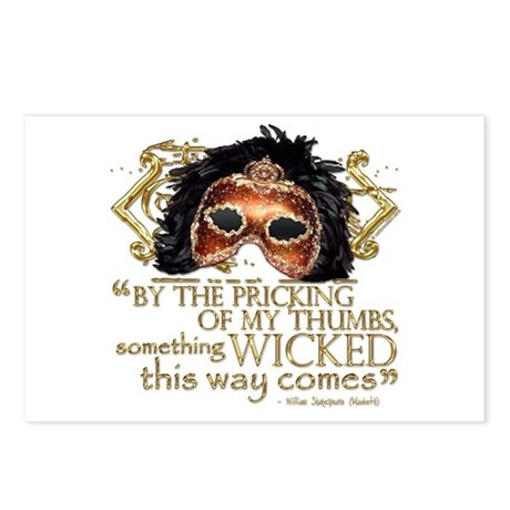 Macbeth Quote Postcards (Package of 8)