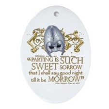Romeo & Juliet Ornament (Oval)