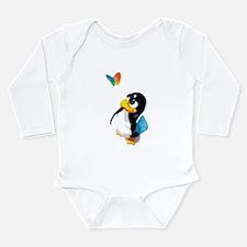 Unique Ubuntu Long Sleeve Infant Bodysuit