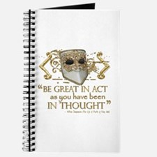Shakespeare Great In Thought Quote Journal