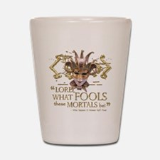 Shakespeare Fools Quote Shot Glass