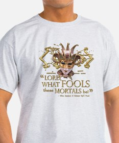 Shakespeare Fools Quote T-Shirt