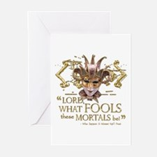 Shakespeare Fools Quote Greeting Cards (Pk of 20)