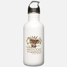 Shakespeare Fools Quote Water Bottle