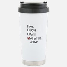 I Like Boys AND Girls Travel Mug