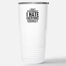 Hate Equally Stainless Steel Travel Mug