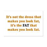 The Fat Mini Poster Print