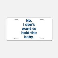 Anti Baby Aluminum License Plate