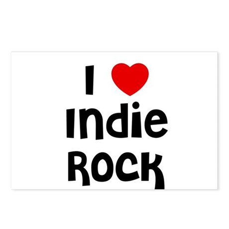 I * Indie Rock Postcards (Package of 8)