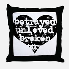 Betrayed Throw Pillow