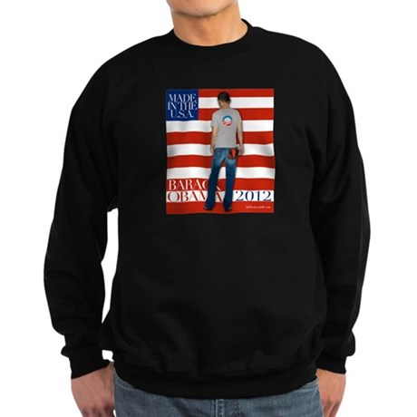 Obama for president 2012 Sweatshirt (dark)