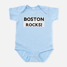 Boston Rocks! Infant Creeper