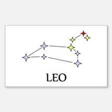 Leo Sticker (Rectangle)