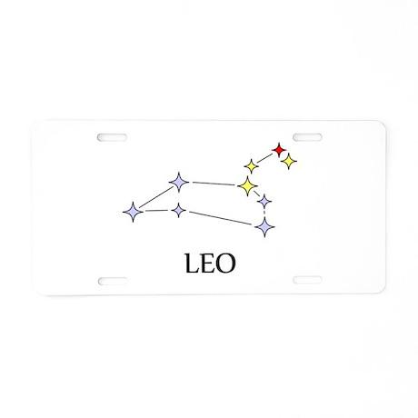Leo Aluminum License Plate