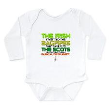 BAGPIPES Long Sleeve Infant Bodysuit