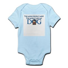 I Like My Dog Infant Bodysuit