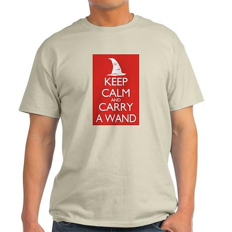 Keep Calm and Carry a Wand Light T-Shirt