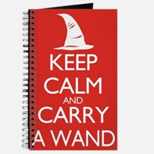 Keep Calm and Carry a Wand Journal