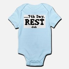 7h day Infant Bodysuit