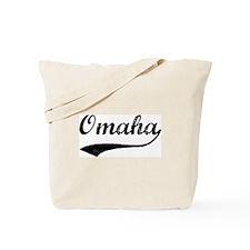 Vintage Omaha Tote Bag