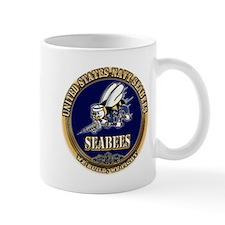 USN Navy Seabees Mug