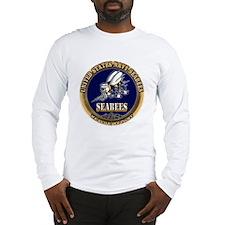 USN Navy Seabees Long Sleeve T-Shirt