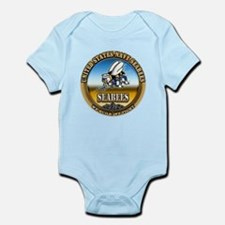 US Navy Seabees Infant Bodysuit