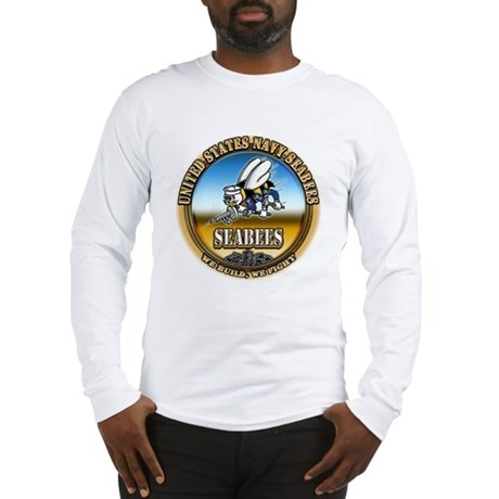 US Navy Seabees Long Sleeve T-Shirt