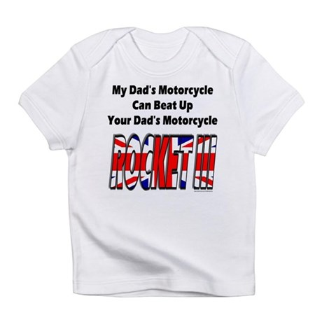 My Dad's Motorcycle Infant T-Shirt