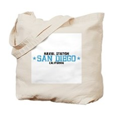 Naval Station San Diego Tote Bag