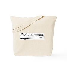 Vintage Lee's Summit Tote Bag