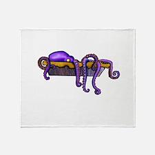 Octopie Throw Blanket