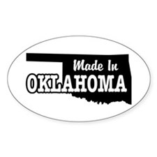 Made In Oklahoma Decal