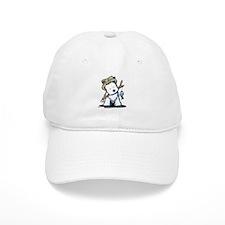 Fishing Westie Baseball Cap