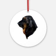 Bloodhound Ornament (Round)